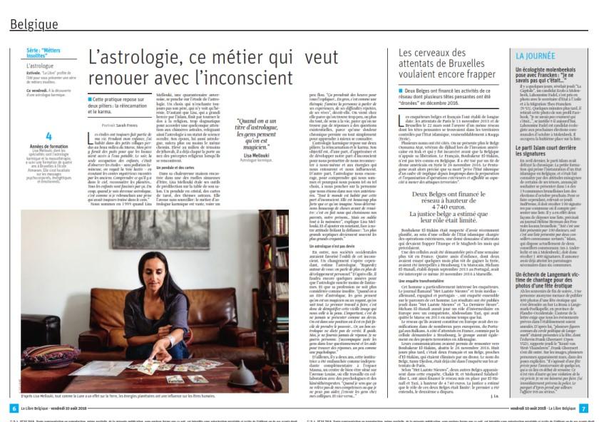 Lisa Mellouki article Libre Belgique photo (840 x 592)